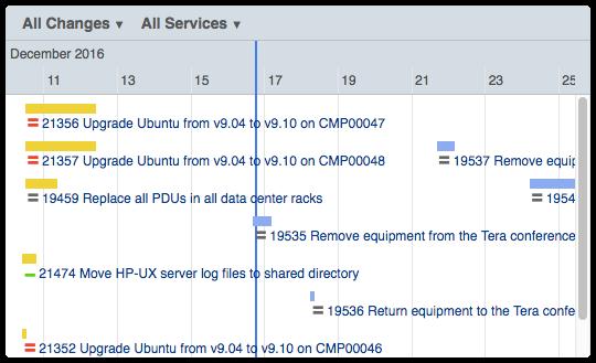 ITRP Change Calendar with vertical scrollbar