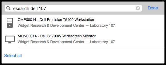 Configuration item suggestions