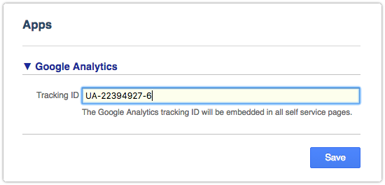 ITRP's standard Google Analytics integration