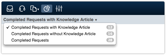 Knowledge Article Link Rate Drill Down Views